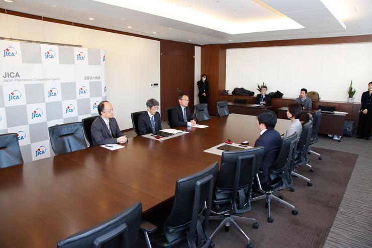 国際協力機構(JICA)と業務連携・協力に関する覚書を締結