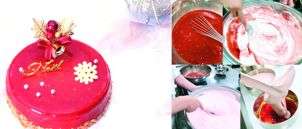 7層の贅沢クリスマスケーキ「宝石シャンパーニュ」
